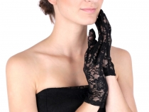 Formal Lace Gloves length 21 cm