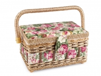 Upholstered Sewing Basket