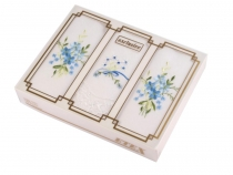 Ladies Embroidered Handkerchief / Gift Box Set