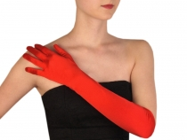 Formal Satin Gloves length 45 cm