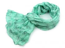 Printed Crinkle Scarf 65x170 cm 2nd quality