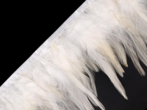 Feather Trim - Rooster Feathers width 12 cm