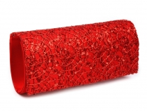 Clutch Purse with Sequins 10x24 cm
