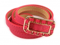 Ladies Belt with Buckle 1.2 cm