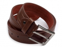 Mens Belt with Buckle width 3.7 cm