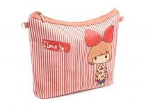 Girls Crossbody Bag 20x23 cm with print
