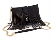 Crossbody Bag 19x25 cm with Fringes