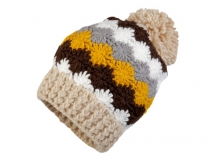 Crocheted Hat with Pom pom