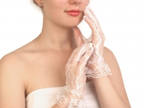Formal Lace Gloves 24.5 cm