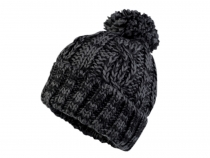 Winter Knitted Hat with Pom Pom