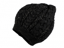 Knitted Hat with Lurex