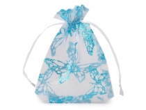 Organza Gift Bag 8.5x12 cm with glitters