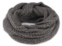Knitted Snood with Lurex