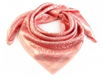 Satin Scarf 93x93 cm with ornaments