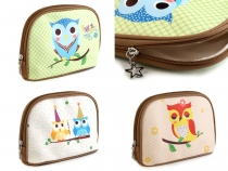 Cosmetic Bag 15x21 cm Owl