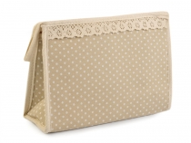 Cosmetic Bag 16x23 cm Polka Dots