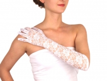 Formal Lace Gloves 43 cm