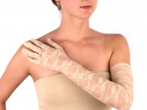 Long Formal Lace Gloves