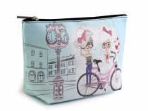 Cosmetic Bag 13x23 cm with Motif