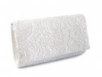 Clutch Bag with Lace