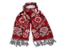 Reversible Scarf of Pashmina type 70x175 cm
