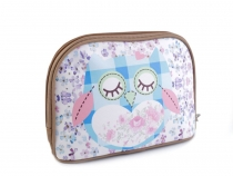 Cosmetic Bag Owl 15x22 cm