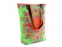 Textile Tote Bag with Ornamental Design 35x40 cm