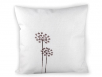 Cushion Cover with Embroidery 44x44 cm