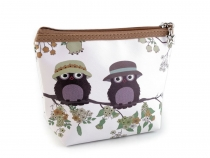 Cosmetic Bag Owl 14x20 cm