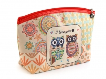 Cosmetic Bag Owl 17x27 cm