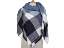 Big Blanket Scarf / Warm Shawl 140x140 cm