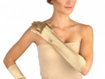 Formal Satin Gloves 40 cm