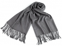 Scarf of Pashmina Type with Fringe 65x180 cm