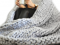 Knitted Blanket Extra Strong