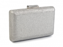 Glitter Hard Shell Clutch Bag 10x16 cm