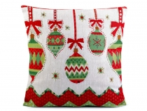 Christmas Cushion Cover 44x44 cm Tapestry