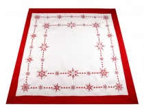 Christmas Embroidered Tablecloth 85x85 cm