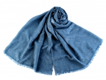 Scarf with Cashmere Ornaments 80x180 cm