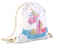 Drawstring Bag Unicorn 33x40 cm