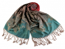 Scarf of Pashmina Type with Fringe 70x165 cm