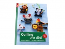 Quilling Book for Kids in Czech