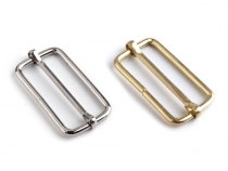 Adjustable Slide Buckle 15x33 mm for Webbing