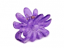 Flower Hair Claw 5x6.5 cm