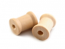Wood Spools 15x19 mm