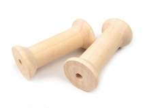 Wood Spools 36x80 mm