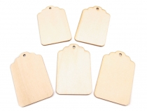 Wooden Tag 40x64 mm