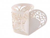 Paper Napkin Ring Holder Ø5 cm Heart