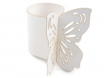 Paper Napkin Ring Holder Ø4 cm Butterfly