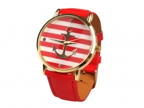 Ladies Watch with Anchor 4x23 cm