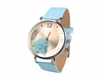 Ladies Watch with Flower 4x23 cm